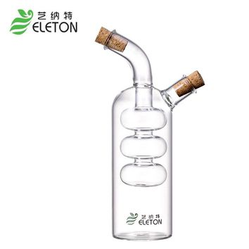 ELETON Kitchen Seasoning Bottle Green Glass Oiler oil leak oil and vinegar sauce bottle storage bottle wine bottle for bar