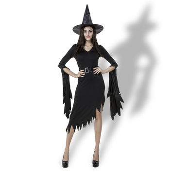 Halloween Costume Irregular Witch Prom Dress [9220884868]