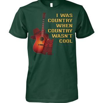 Mens Country Lover Funny Father's Day Gift for Dad T-Shirt
