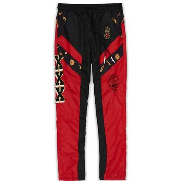 VAGABOND TRACK PANTS-RED