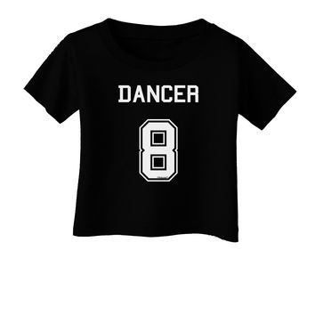 Reindeer Jersey - Dancer 8 Infant T-Shirt Dark
