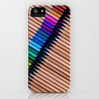 Colored Pencils - for iphone iPhone & iPod Case by Simone Morana Cyla