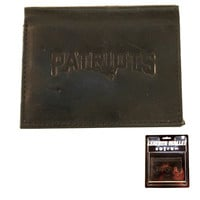 New England Patriots Black Leather Wallet