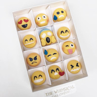 Emoji belgian Chocolates
