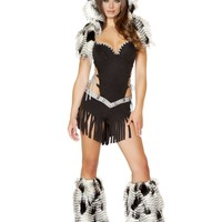 1PC Native American Hottie Costume