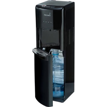 Black Bottom Loading Hot and Cold Water Dispenser Cooler
