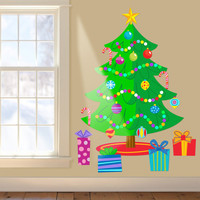 Christmas Tree Jumbo Peel & Stick Wall Decal
