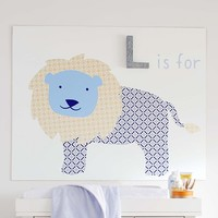 Harper Lion Decal