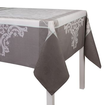 Azulejos Enduit Coated Tablecloths in Grey