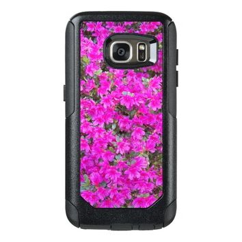 Pink Rhododendron Blossoms Floral Photo OtterBox Samsung Galaxy S7 Case
