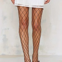 Net to Mention Fishnet Tights