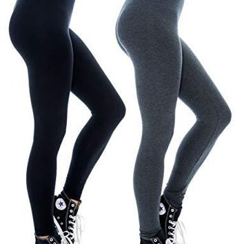Unique Styles Cotton Leggings for Women Breathable Soft Active Stretch Leggings