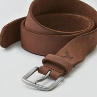 AEO Women's Classic Leather Belt (Brown)