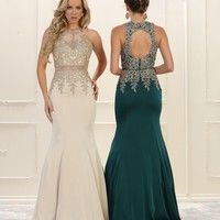 Prom Long Dress Homecoming Plus Size Evening Formal Gown