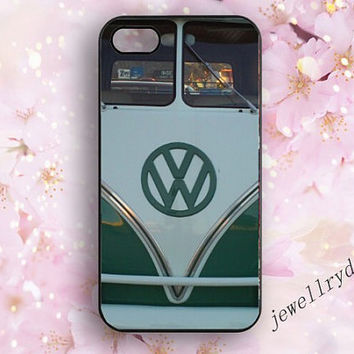 VW Mini Bus iPhone 5/5s Case,Mini Bus Samsung Galaxy S3/S4/S5 case,Volkswagen bus iphone 4/4s case,cute bus iphone 5c case
