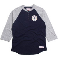 Detroit Tigers Unbeaten Henley Navy / Grey