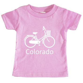 Colorado Vintage Bicycle - Infant T-Shirt
