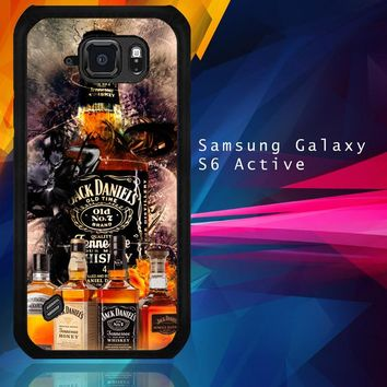Jack Daniels Wallpaper X3402 Samsung Galaxy S6 Active  Case
