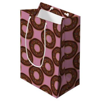 Donuts: Gift Wrapping Paper Supplies Medium Gift Bag