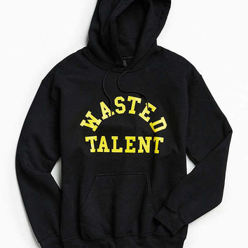 Never Made Wasted Talent Hoodie Sweatshirt | Urban Outfitters