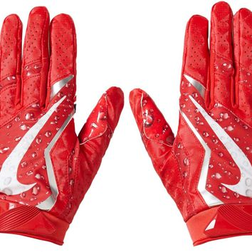 Supreme Nike Vapor Jet 4.0 Football Gloves Red