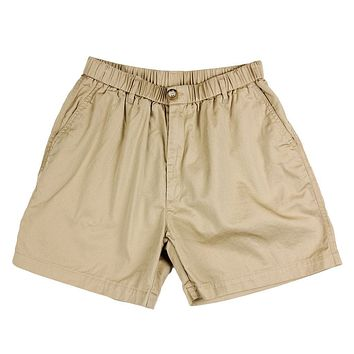 "Longshanks 5.5"" Chino Shorts in Khaki by Country Club Prep"