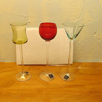 ASSORTED BAR GLASSES BY CIRCLE WARE