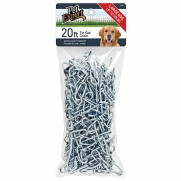 Pet Expert® PE223864 Heavy-Duty Tie Out Chain for Dogs, 3 mm x 20'