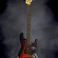 Fender American Standard Jazz Bass Five String - 3-Color Sunburst,