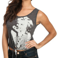 Hollywood Crop Tie Tank | Shop Tops at Wet Seal