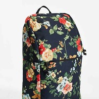 Focused Space Ivy League Floral Backpack- Black Multi One