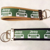 "5"" Jeep Key Chain, Key Fob, Jeep Wristlet"