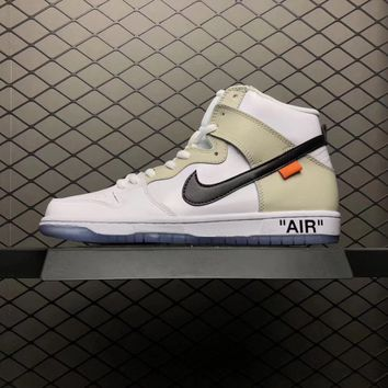 NIKE MEN'S SB ZOOM DUNK PRO OW x OFF-WHITE