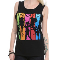 Sailor Moon Silhouette Girls Tank Top