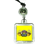 Friends TV Show Central Perk Cell Phone Blinking Flashing Charm