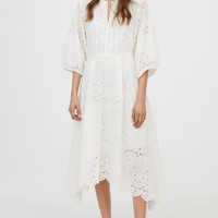 Dress - White - Ladies | H&M GB
