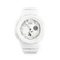BABY-G x Hello Kitty Dual Dial World Time: White