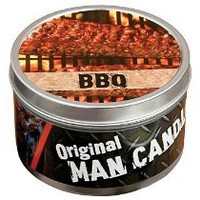 Original Man Candle BBQ Scent