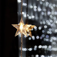 Star Christmas Window Light
