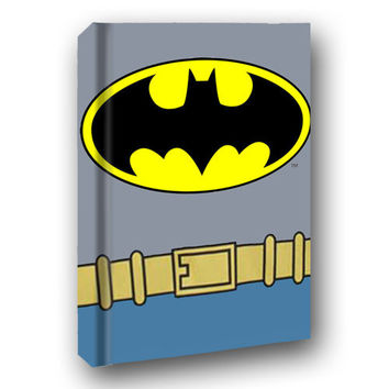 Batman Costume Hard Cover Journal