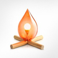 Skitsch  Fire Kit Table Lamp | FORZIERI