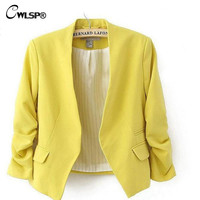 Autumn Short Jackets Candy Colo