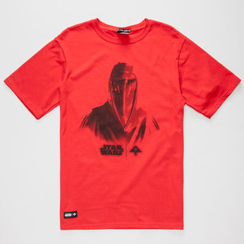 Lrg X Star Wars Face Of War Mens T-Shirt Red  In Sizes