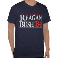 Reagan Bush '84 Shirt from Zazzle.com