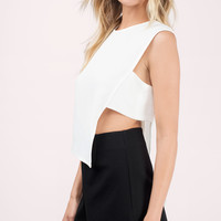 Alexandra Asymmetrical Top