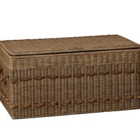 Woven Trunk with Rope Handles | Pottery Barn