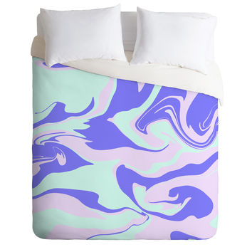 Wesley Bird Hypnotic Camo Duvet Cover