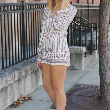 Holding on to Summer Romper