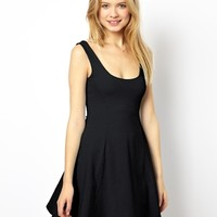 ASOS Sleeveless Skater Dress With Seam Detail