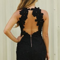 KSB: Have My Back Dress: Black - Dresses - Hope's Boutique